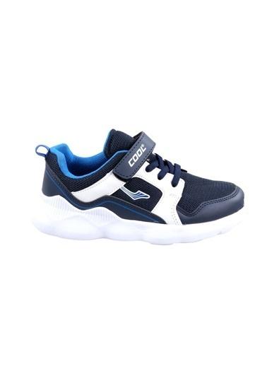Cool Erkek Çocuk Lacivert-Beyaz Günlük Spor Ayakkabı Lacivert